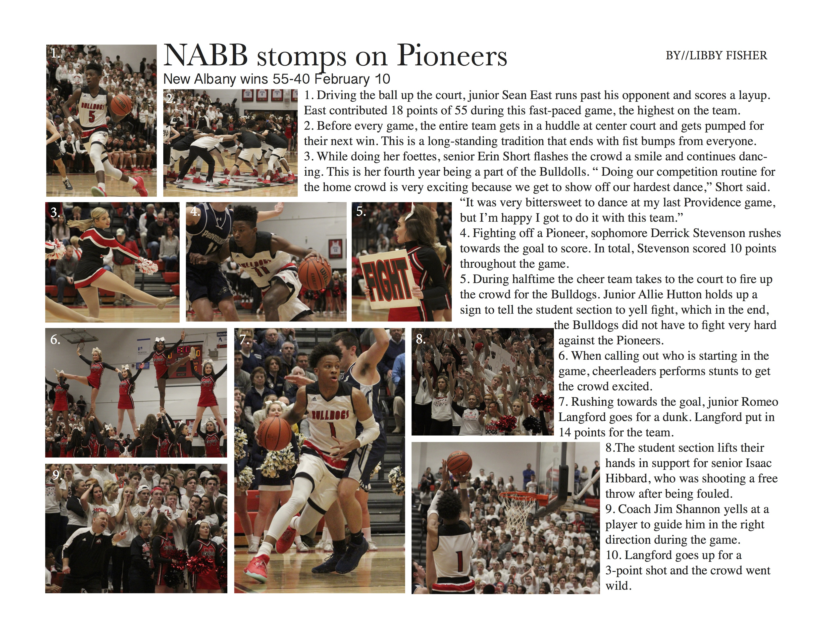 NABB stomps Pioneers