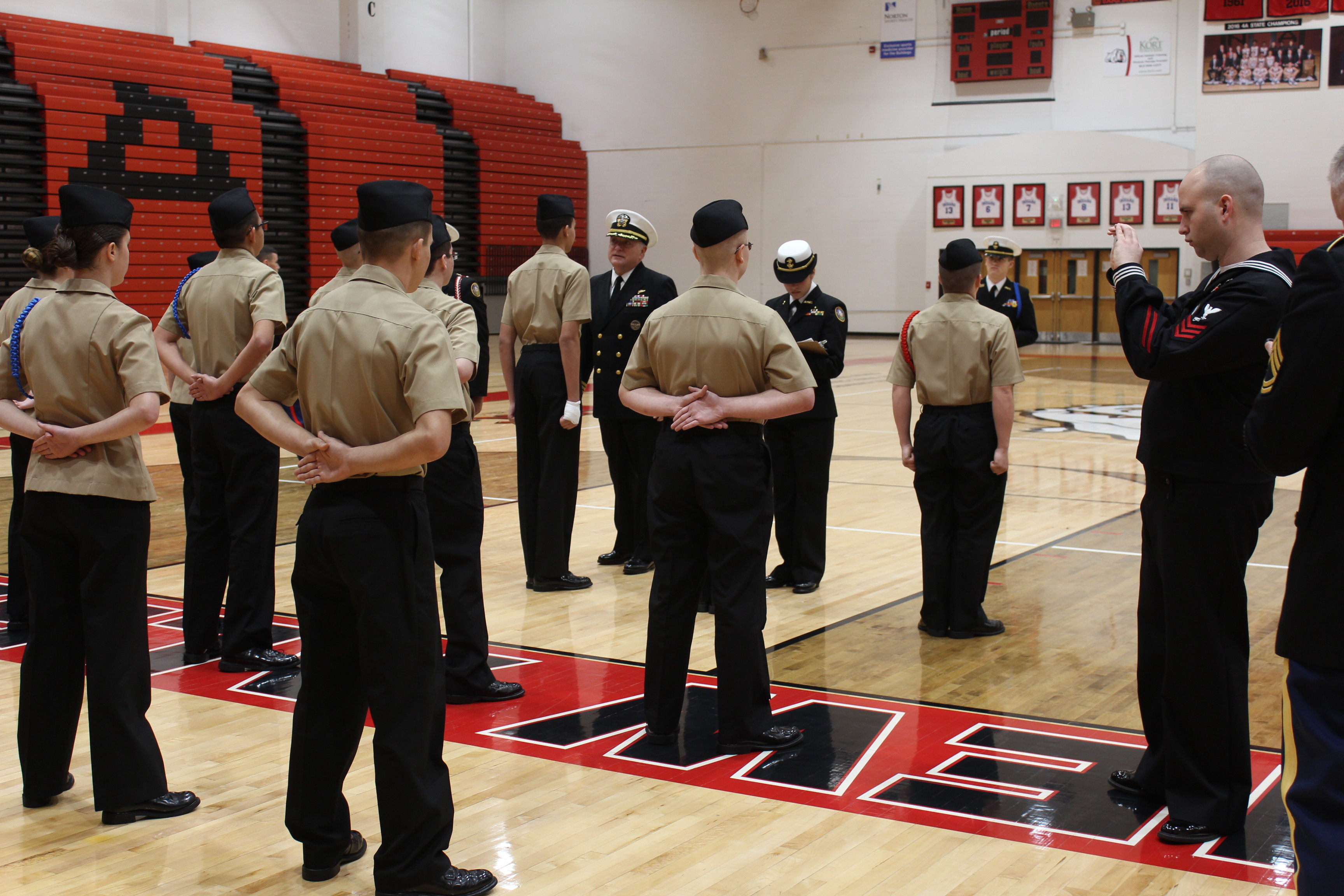 NJROTC Annual Military Inspection Day by// Kami Geron