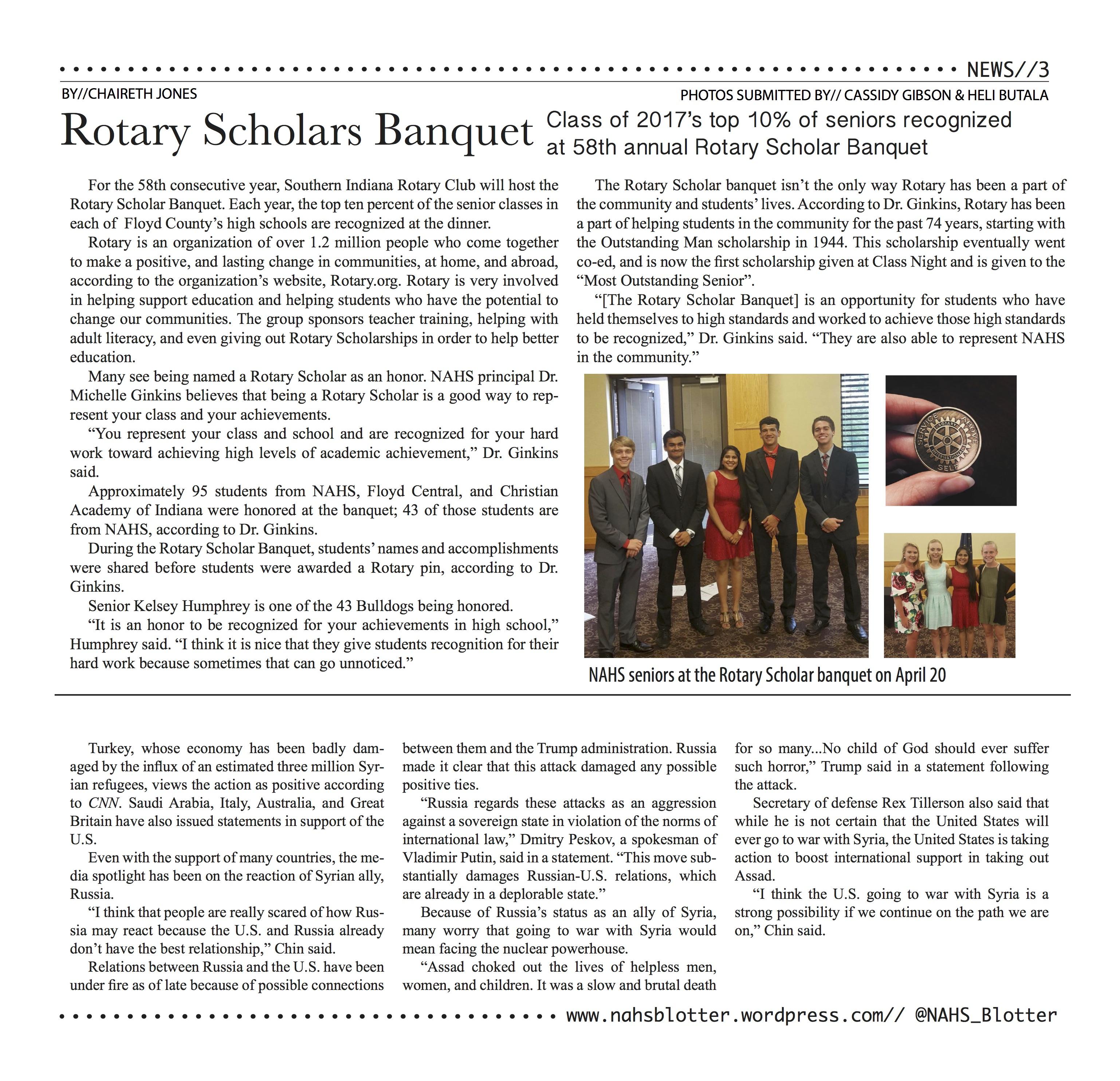 News // April Print Edition