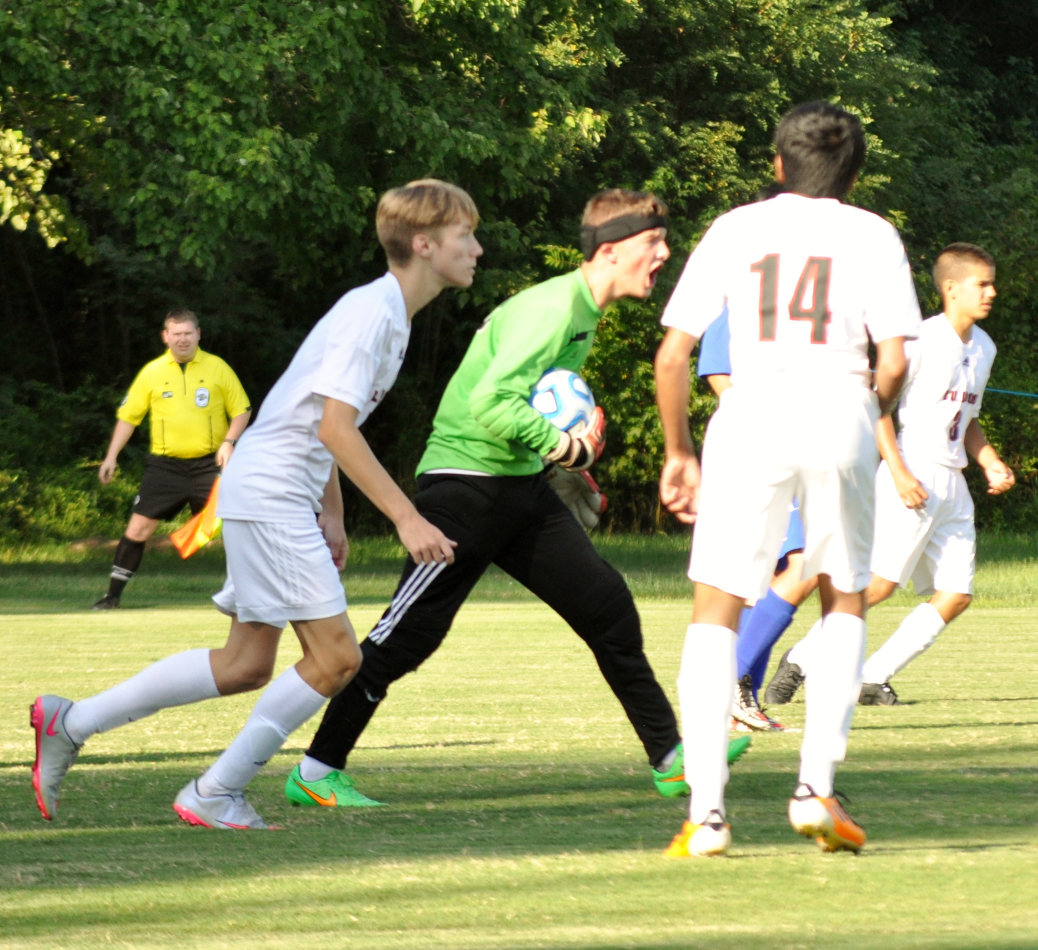 JV Boys Soccer vs Christian Academy by//Kami Geron