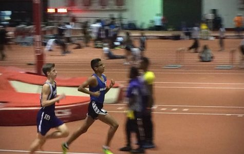 Track Athletes Go Indoor