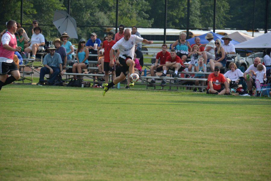 NAHS hosts boys soccer alumni game