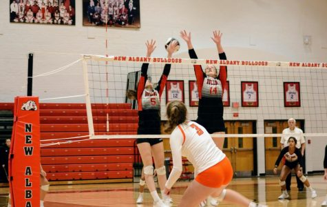 Volleyball falls to Columbus East
