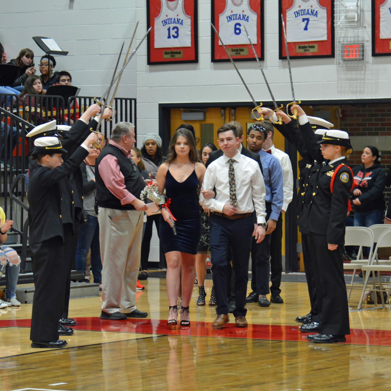 Senior+...+with+escort+Nathan+Long.