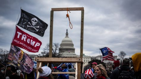 Trump supporters near the  U.S Capitol, on January 06, 2021 in Washington, DC. // Shay Horse, Getty Images