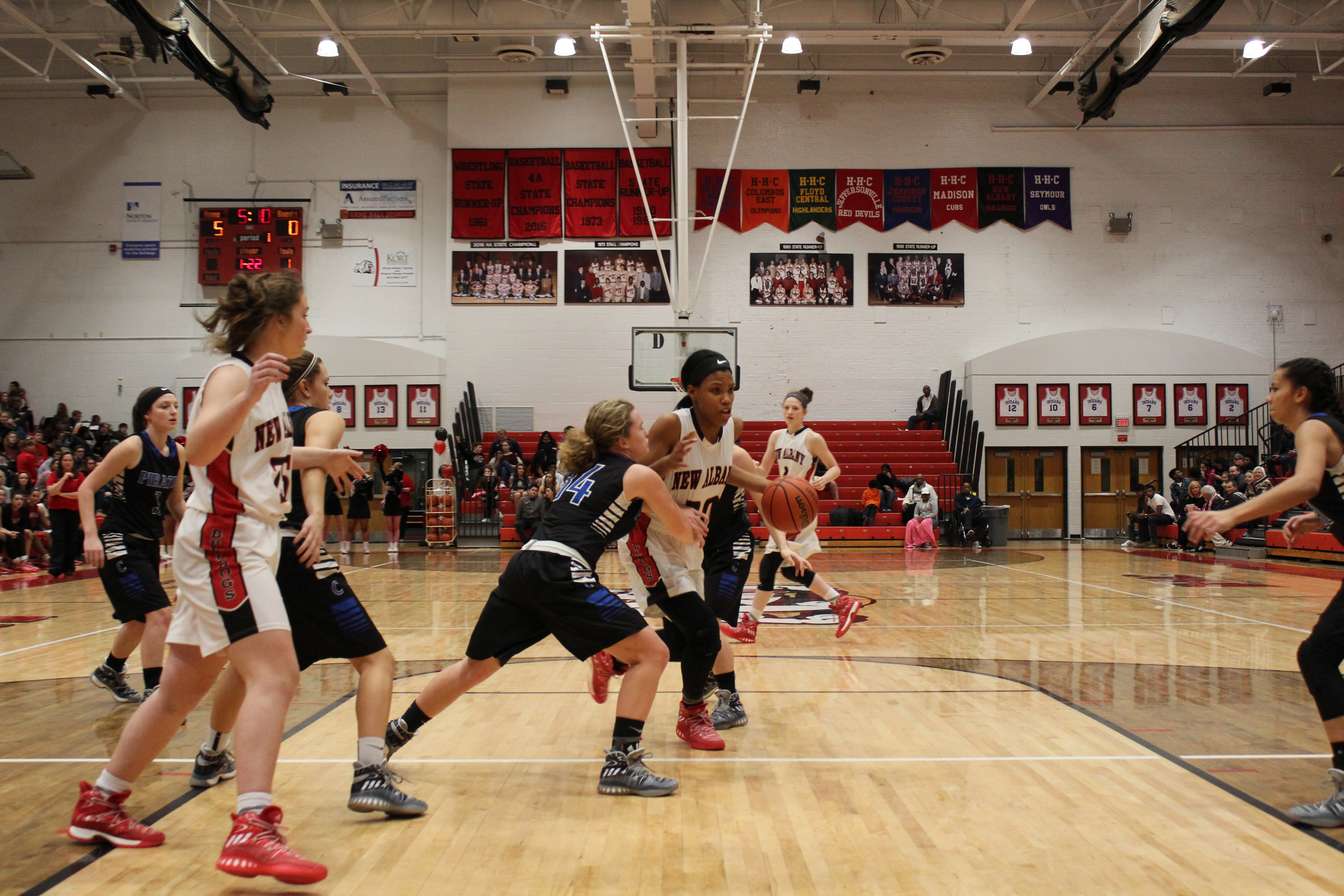 Lady Bulldogs fall to Jennings County in sectional play by// Alex Wallingford