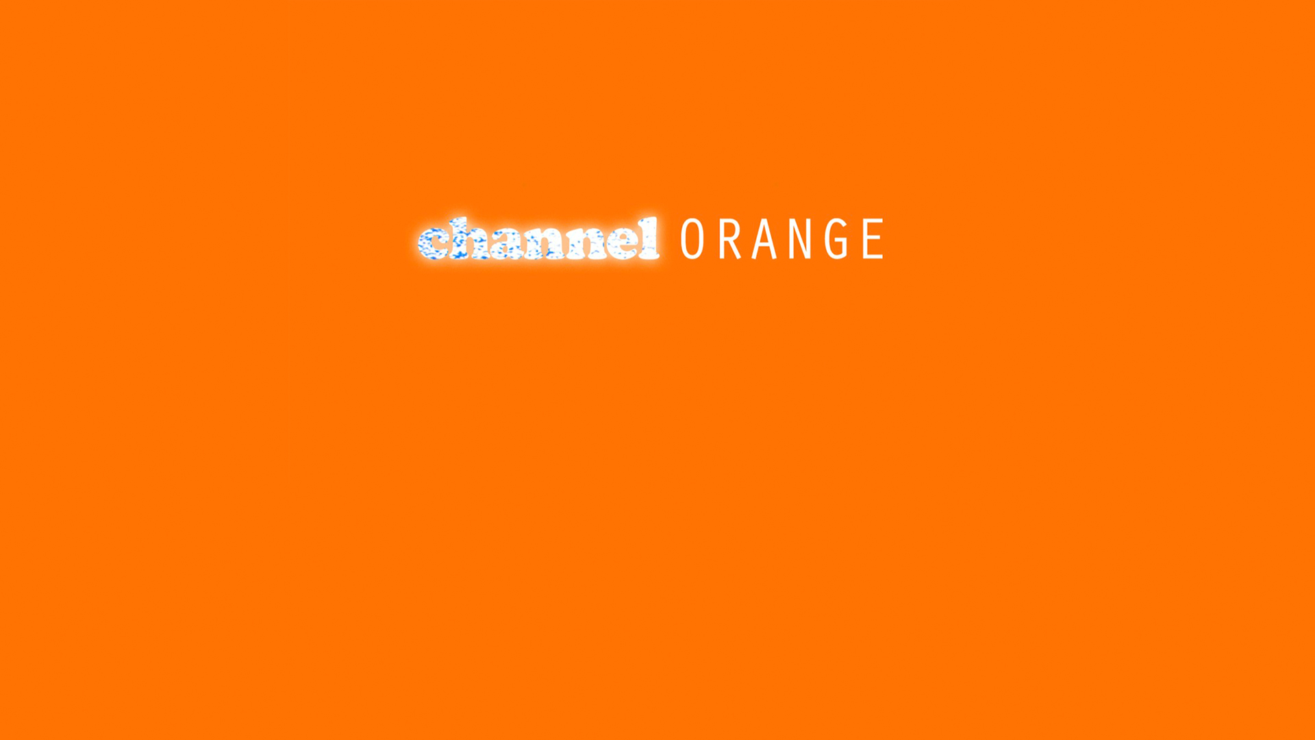 Frank Ocean Channel ORANGE Album Review by Tyler Boren & Matthew Fitzsimmons