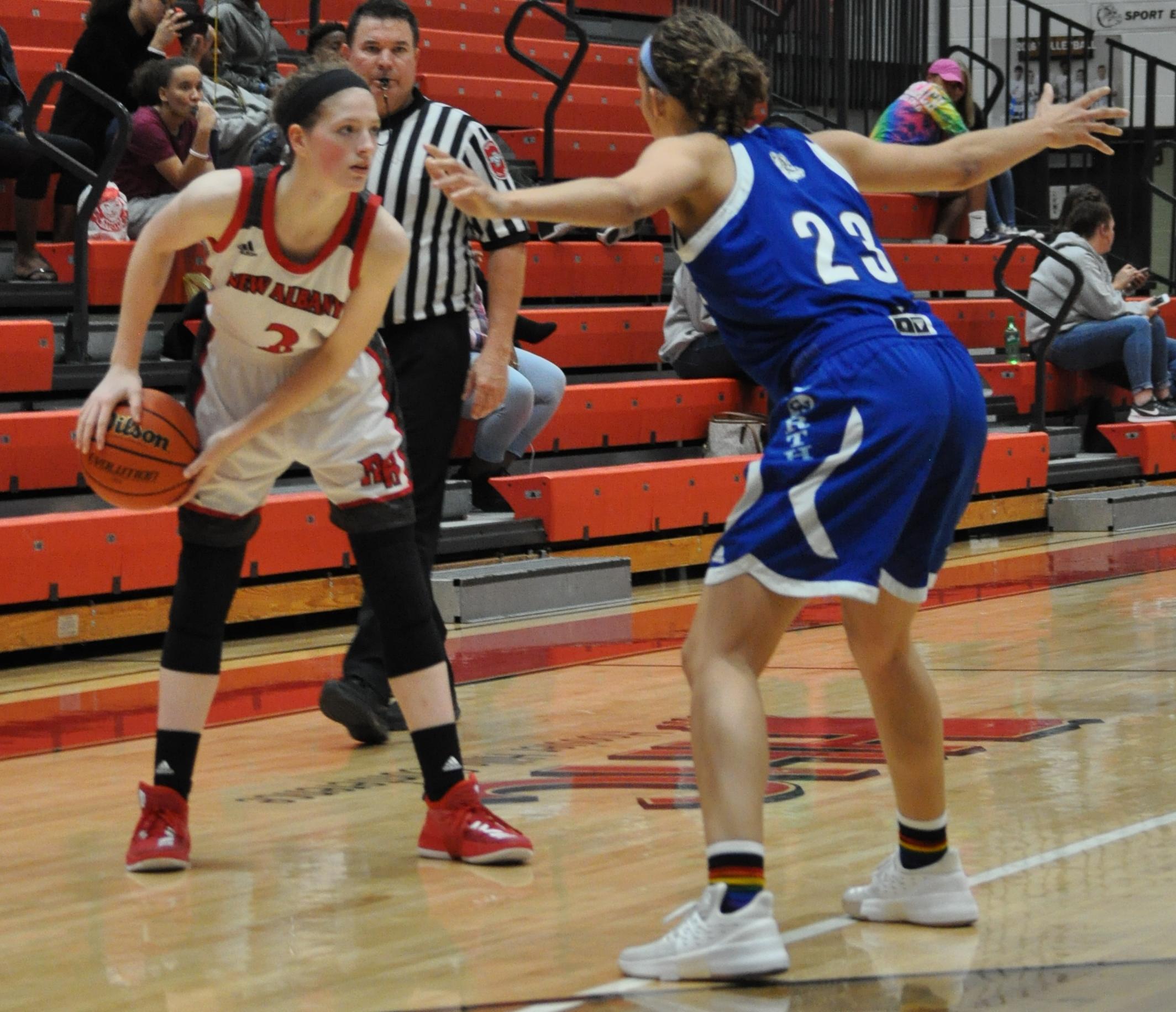 NA girls basketball falls short in home opener By//Kami Geron