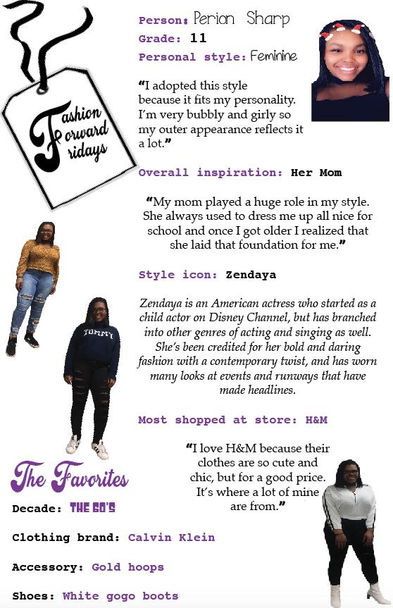 Fashion Forward Fridays: Perion Sharp