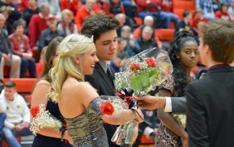 Senior Olivia Hawkins crowned Homecoming Queen