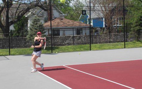 Girls tennis defeats Corydon 5-0