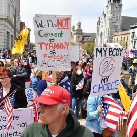 Stop protesting COVID-19