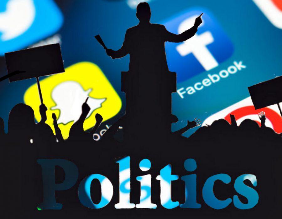 Posting and reposting politics