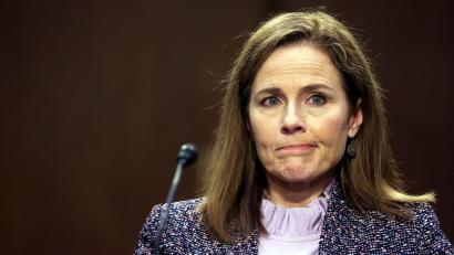 The issue with Amy Coney-Barrett