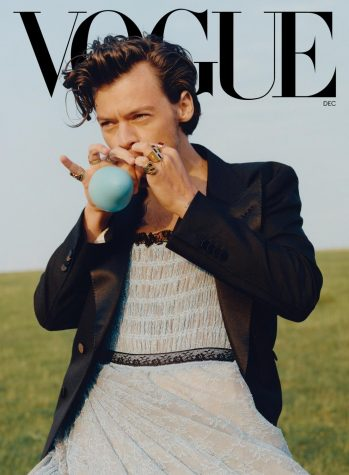Harry Styles on the December 2020 issue of Vogue Magazine. // Tyler Mitchell, Vote