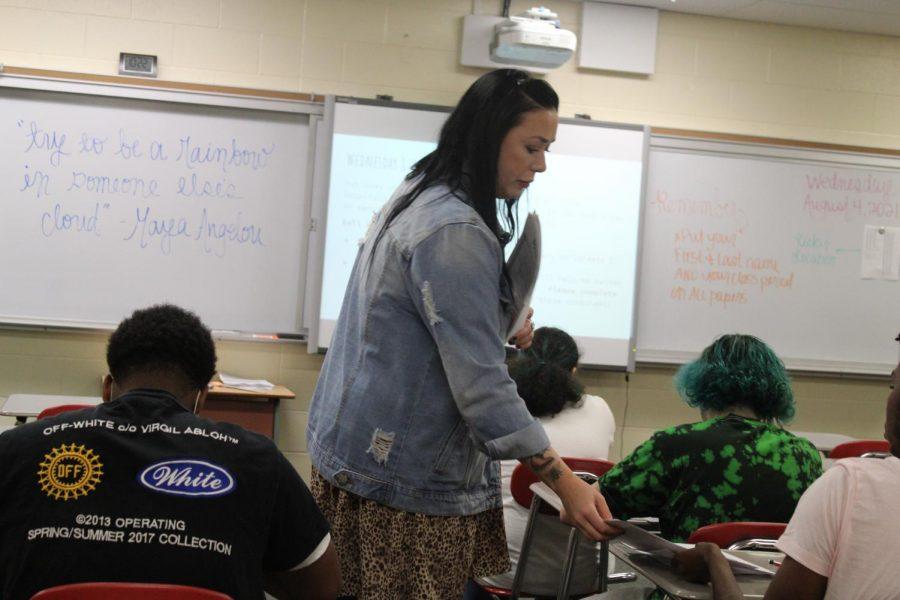 New teacher profile // Ms.Falk